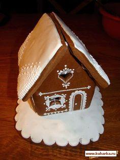 Пряничные домики в пряничной стране Gingerbread, Baking, Desserts, Food, Cookies, Little Cottages, Tailgate Desserts, Deserts, Ginger Beard