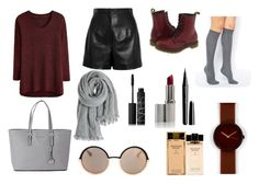 """""""Untitled #117"""" by cris-soares ❤ liked on Polyvore featuring Balenciaga, Dr. Martens, ASOS, Michael Kors, Calypso St. Barth, Marc by Marc Jacobs, Nava, NARS Cosmetics, Marc Jacobs and Estée Lauder"""