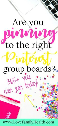 Are you pinning to the right Pinterest Group Boards? #blogging