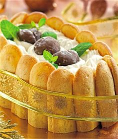 Charlota de Castañas Tapas, Fondant, Bread, Chocolate, Sweet, Food, Sweet Recipes, Deserts, Cooking