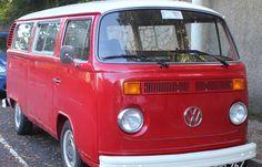 Hippie Van Red in Dublin