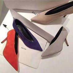 Most Desired Celine Essential Velvet Pumps Shoes | bridal wedding trend