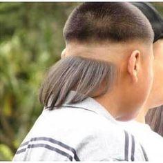 unusual haircut