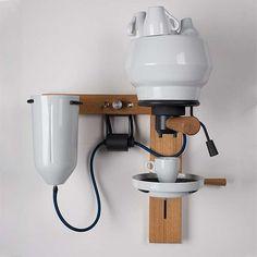 The Seppl Espresso Machine by Arvid Hausser is Stunningly Sculptural #drinking #drink trendhunter.com