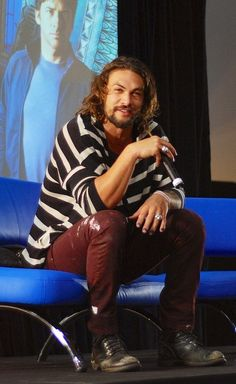 Jason Momoa | Joe Flanigan from Stargate Atlantis
