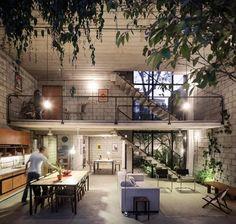 Maracanã House by Terra e Tuma | lussocase.it