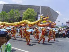 Chinese parade dragon
