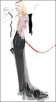 Cate Blanchett's Oscar dress, 1999.