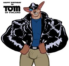 Woof Of Finland (Tom of Finland Tribute #2) by Penn92Evans Here's the second piece for Tom of Finland's birthday. Its my fursona dressed in a very typical outfit of ToF's character Kake. Not only has ToF influenced me as an artist, but he also...