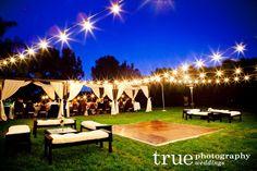 wedding overhead lighting - Google Search