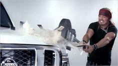 Nissan's Bret Michaels 'Tough Love' Music Video is a Viral Success #marketing trendhunter.com