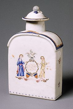 Tea Caddy 1775–1800 Chinese