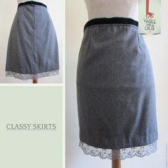 """Já conhecem as nossas classy skirts? """"Classy"""" não tem de ser sinónimo de aborrecido! Visitem o nosso site para saber mais."""