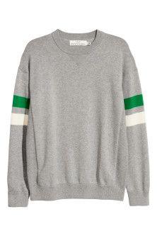 Pullover in maglia di cotone