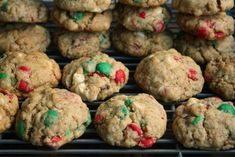 Christmas Crunch Cookies