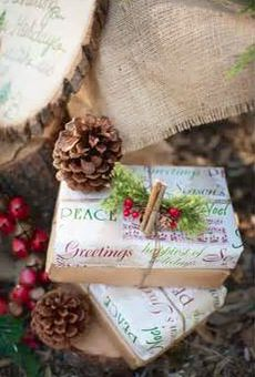 Gift wrap idea...