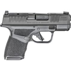 The optics ready Springfield Armory Hellcat includes a removable plate where you can mount a micro red dot sight.