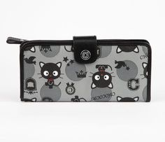 Chococat Long Wallet: Preppy