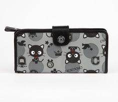 Chococat Long Wallet: Preppy