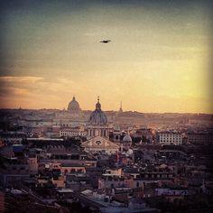 Rome at Sunset. #sunset #rome