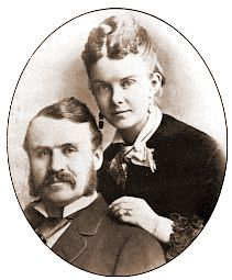William and Kitty Gilbert as a young couple.