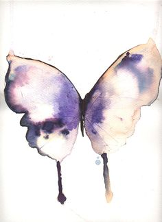Watercolor butterfly by Metamorphosing