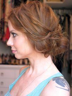Julia Petit hair
