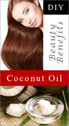 8 Beauty Benefits Of Coconut Oil: {Hair, Skin & Nails} : TipNut.com