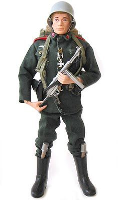 Action Man German Stormtrooper You Could Have A Proper Skirmish With Your Mates Without Having