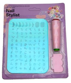 Imported Nail Art Stamping Kit Image Plate Xy10