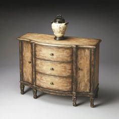 Butler Console Cabinet - Old Spanish Mission - 0674270