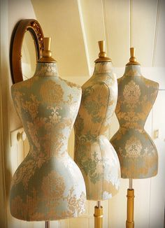 wasp waisted Celia mannequin by Corset Laced Mannequins, via Flickr