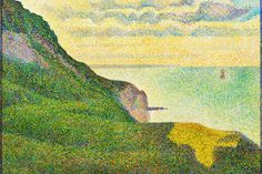 Seascape at Port-en-Bessin, Normandy 1888 II, by Georges Seurat