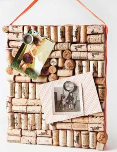 Upcycle old wine corks into fun yet functional items with these five wine cork crafts.
