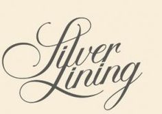 Silver Lining writing tattoo on collarbone?