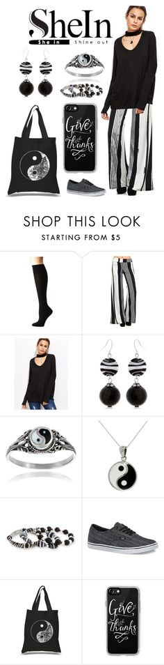 """""""Yin-Yang SheIn"""" by pinky-dee ❤ liked on Polyvore featuring Lauren Ralph Lauren, Pretty Young Thing, Erica Lyons, Journee Collection, Carolina Glamour Collection, Vans, Los Angeles Pop Art and Casetify"""