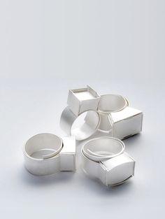 Christoph Staube silver rings http://www.preciouspages.de/