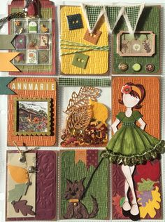 Autumn Fall Pocket Letter by Jackie Benedict