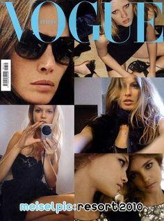 Vogue Italie de décembre 2009