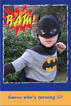 Super Hero Birthday Party - Cumpleaños de súper héroes