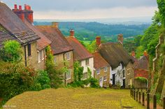 Gold Hill Street, Shaftesbury, Dorset, England, by Jay Levin.... Gold Hill : )
