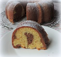 Chocolate Marble Cake from The English Kitchen