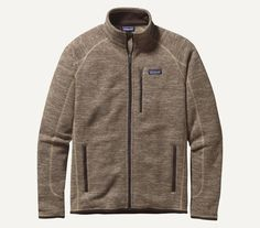 The Patagonia Better Sweater Jacket is an easy-wearing, bulk-free jacket that thrives as urban outerwear or layered in the backcountry under a shell. Made of a knitted, heathered polyester fleece dyed
