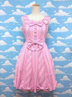 Wonder Trip Regimental JSK in Pink from Angelic Pretty - Lolita Desu