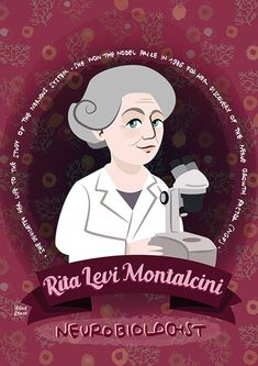 Rita Levi-Montalcini poster women in science | Etsy Feminist Icons, Feminist Af, Katherine Johnson, Science Art, Science Humor, Nobel Prize, Women In History, Illustrations Posters, Family Gifts
