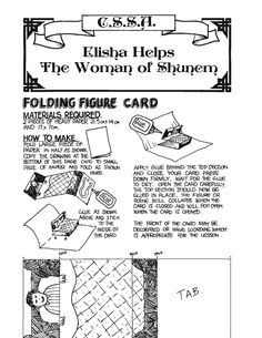 Folding Figuire card craft. Sunday School Crafts, Paper, Cards, Free, Women, Maps, Playing Cards, Woman
