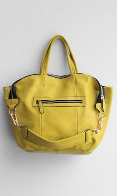 Big Zipper Satchel...they have this in a nude that is really cute!
