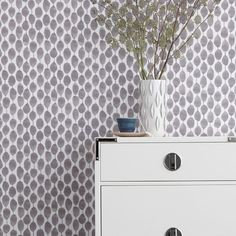 Chasing Paper Wall Panels - Stamped Dot | West Elm