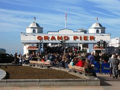 Weston Grand Pier  © Geoff Sheppard, WikiCommons // 5 children's activity camps this Easter in North Somerset //