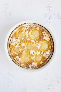 Tarte amandine aux poires - recette facile (La cuisine de Nathalie - le blog de…